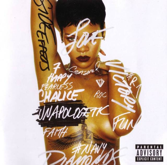 Rihanna - Unapologetic - Front